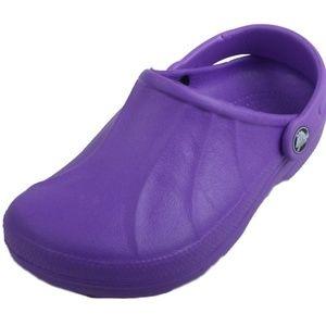 Crocs Clogs Girls Youth Purple Slip On Clogs